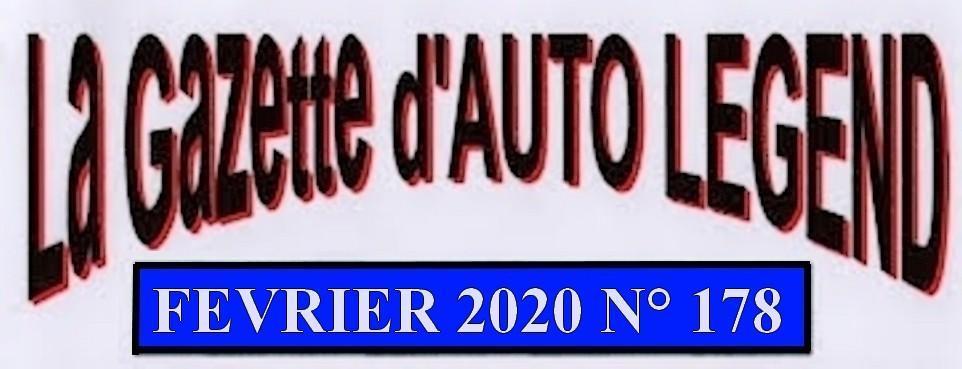 Bandeau gazette fevrier 2020