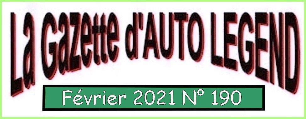 Bandeau gazette fevrier 2021