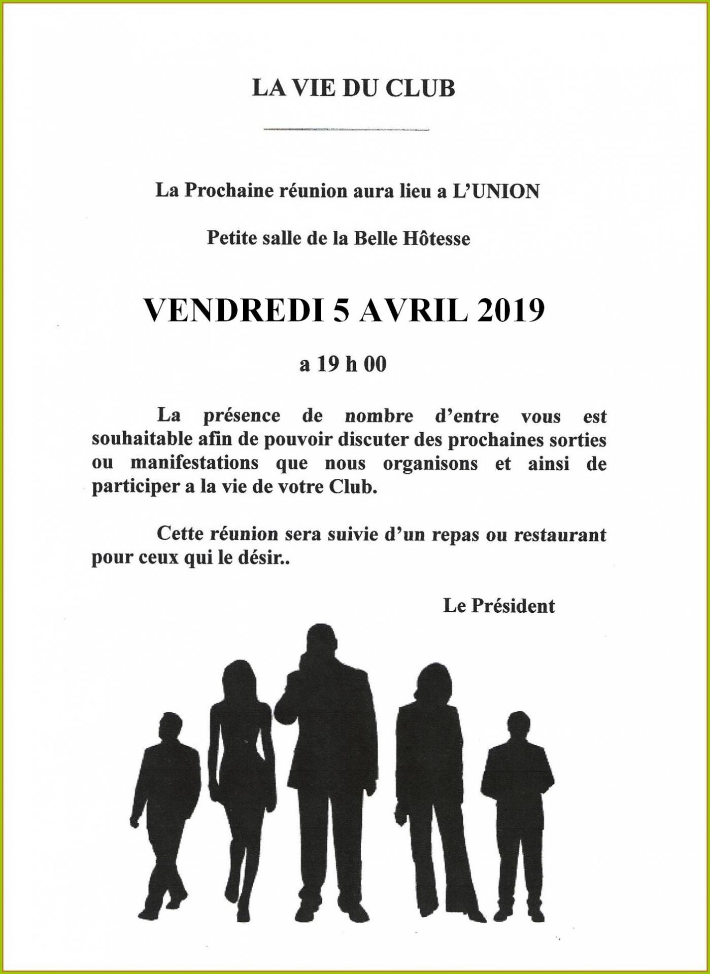 Reunion belle hotesse 04 2019